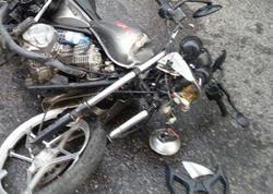 Bakıda ağır motosiklet qəzası