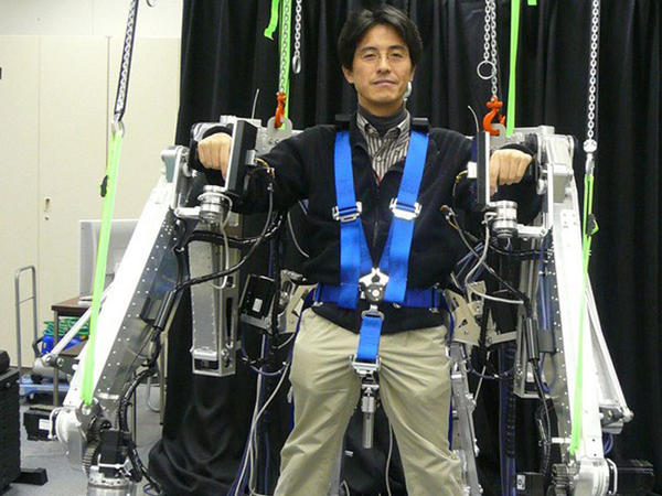 İnşaatçılar üçün yeni nəsil ekzoskelet