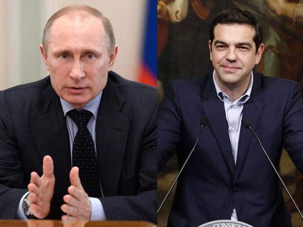 Putin Yunanıstanın baş nazirinə zəng vurdu