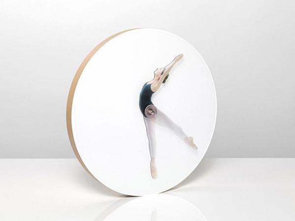 Balerinalı saat - FOTO