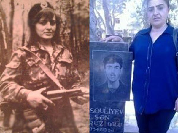 Xanım Qarabağ qazisi dünyasını dəyişdi - FOTO