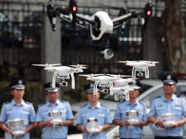 İlk polis dronları dəstəsi yarandı