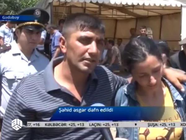 """Şəhidin qardaşı: """"Eldar 4 erməni öldürüb"""" - VİDEO"""