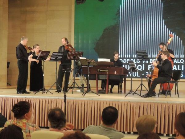 Qəbələ VII Beynəlxalq Musiqi Festivalının ilk konserti olub