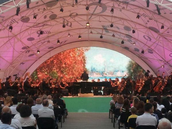 Qəbələdə İtaliya Simfonik Orkestrinin növbəti möhtəşəm konserti