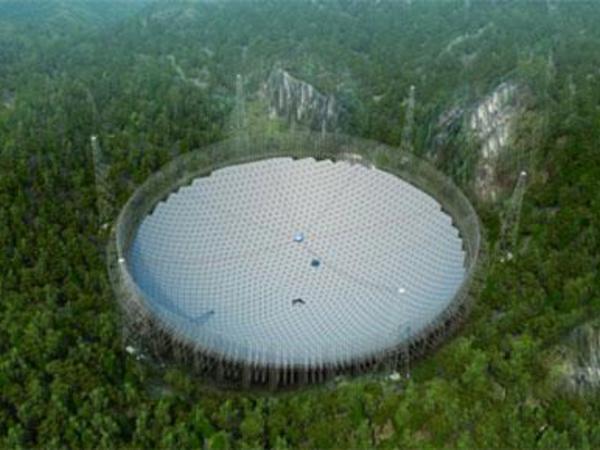Çin dünyanın ən böyük radioteleskopunu qurur