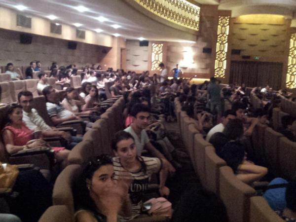 Nizami Kino Mərkəzində milli kinematoqrafiyaya dəstək aksiyası davam edir - FOTO