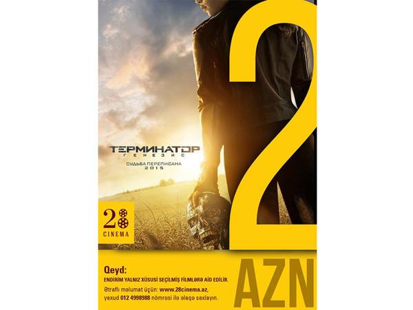 """""""28 Cinema"""" Arnold Şvarsneggerin pərəstişkarları üçün eksklüziv aksiya keçirir"""