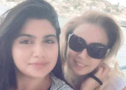 Roza qızının ad gününü adada qeyd edib - FOTO
