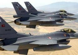 Türkiyə qırıcıları İraqa zərbələr endirdi