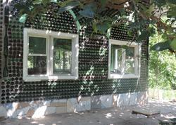 60 min butulkadan tikilən qeyri-adi ev - FOTO