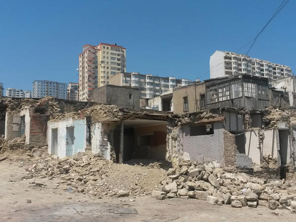 """""""Sovetski"""" – mərkəzdə mərkəz ola bilməyən məhəllə - FOTO"""