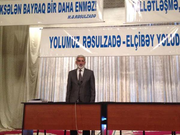 KXCP-nin qurultayı keçirilir, Əli Kərimli və Arif Hacılı tədbirə qatılmayıblar - FOTO
