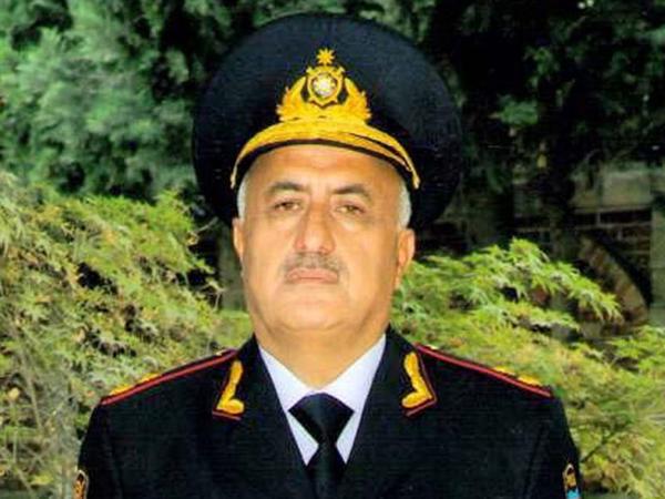 Polis generalı oğlunun həbsindən danışdı