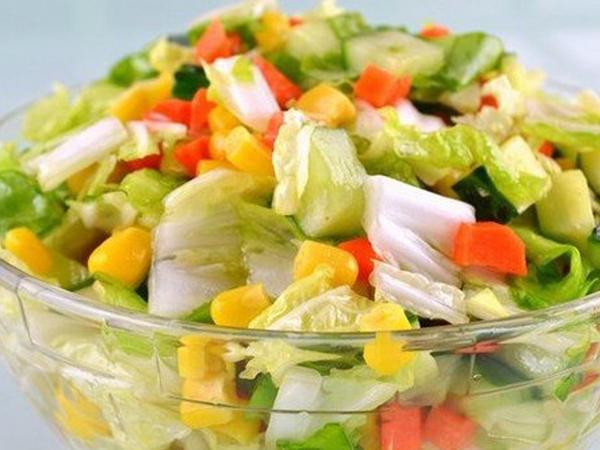Rəngli salat - FOTO