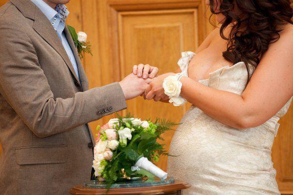Беременной с днем свадьбы 56