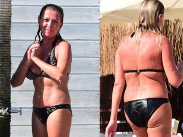 42 yaşlı aktrisanı utandırdılar - FOTO