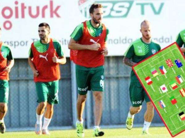 """""""Bursaspor""""un unikal heyəti"""