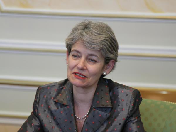 """İrina Bokova: """"Heydər Əliyev Fondunun layihələri YUNESKO-nun qarşısında duran əsas vəzifələrə uyğun gəlir"""""""