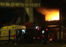 Polis avtobusuna hücum edildi, 24 nəfər yaralandı - VİDEO - FOTO