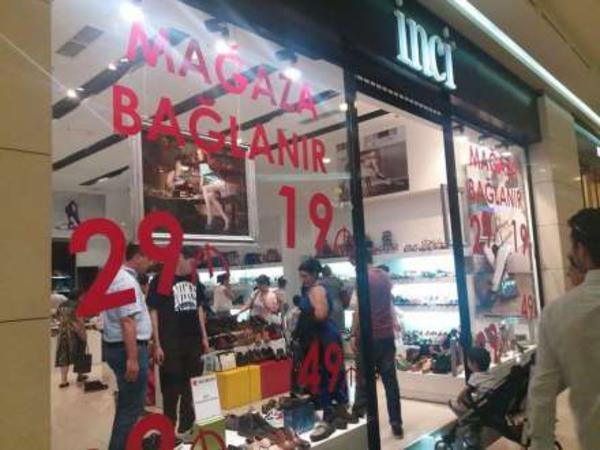 Park Bulvar Ticarət Mərkəzində daha bir mağaza bağlanır
