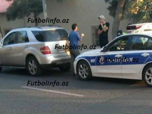 """""""Qarabağ""""ın futbolçusunu polis saxladı"""