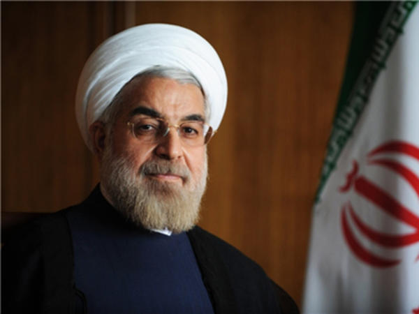 """Həsən Ruhani: """"Azərbaycan və İran arasında əməkdaşlığın inkişafı üçün geniş imkanlar var"""""""