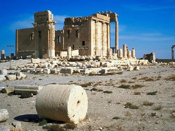 İŞİD Roma tarixini məhv etdi - VİDEO - FOTO