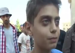 """""""Savaşı durdurun, Avropaya gəlmək istəmirik"""" - 13 yaşlı suriyalıdan dünya liderlərinə"""