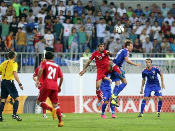 Azərbaycan - Xorvatiya oyununun STATİSTİKAsı
