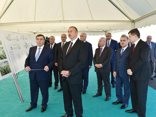 Prezident İlham Əliyev Xızı və Siyəzən rayonlarına səfər edib - YENİLƏNİB - FOTO