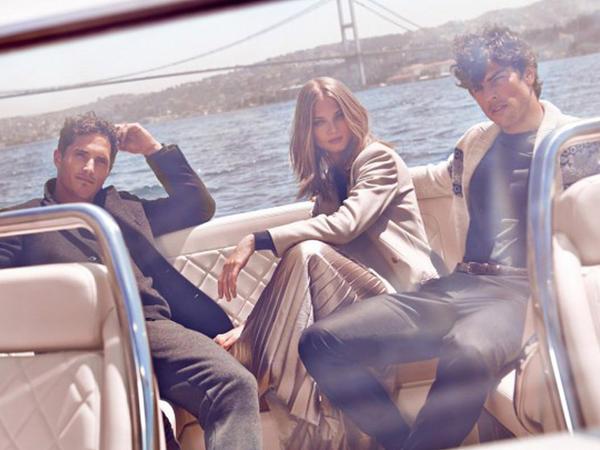 Üç modelli sessiya - FOTO