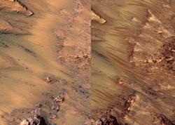 Mars suyu ilə dəstəmaz...