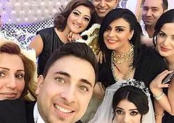 Azərbaycanlı aparıcının toyundan ilk FOTOlar