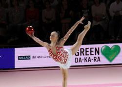 """Azərbaycan gimnastı Tokioda """"AEON Cup - 2015""""in bürünc medalını qazanıb - FOTO"""