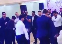 Azərbaycanlı müğənni toyda elə oynadı ki... - VİDEO