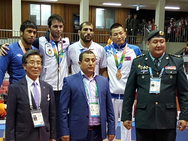 İdmançımız Koreyada gümüş medal qazandı