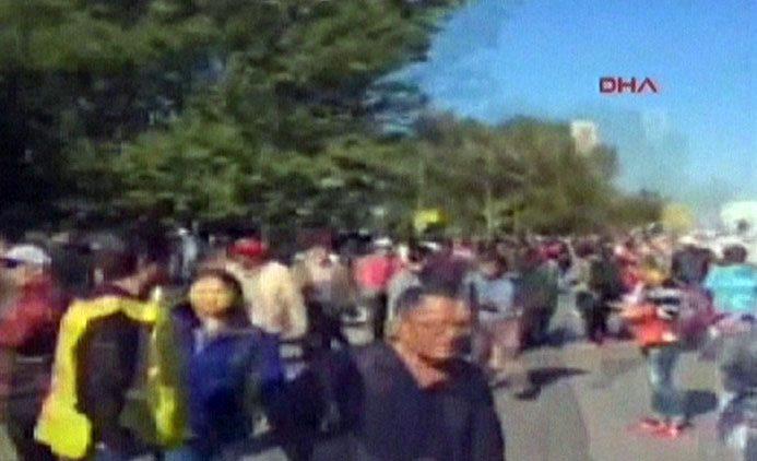 Ankarada güclü partlayış: ölən və yaralananlar var  - FOTO