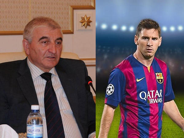 Məzahir Pənahovun Messi misalı