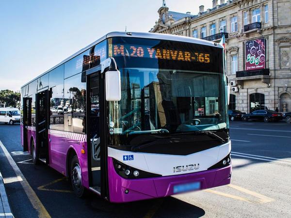 Avtobuslara kameralar quraşdırılır