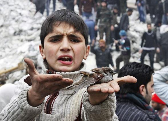 ABŞ BMT-də: Suriyalı uşaqların qanında Rusiyanın əlləri vardır.