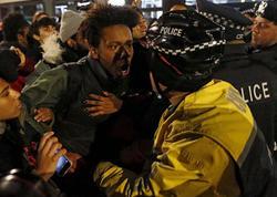 """ABŞ yenə qaynayır: """"qara-ağ"""" qarşıdurma artır - VİDEO - FOTO"""