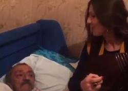 Xalq artisti tarzəni göz yaşına boğdu - VİDEO