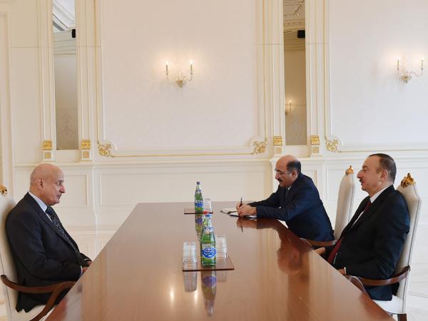 Prezident İlham Əliyev bir sıra görüşlər keçirib - FOTO