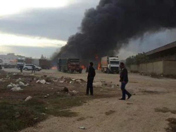 Rusiya Suriyaya yardım aparan tırları bombalayıb, 7 nəfər ölüb - VİDEO - YENİLƏNİB