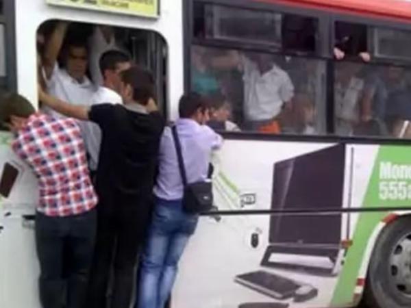 Avtobuslardakı sıxlığa çarə tapılacaq? - VİDEO