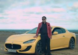 """Əlikram """"Maserati"""" ilə klip çəkdirdi - VİDEO"""