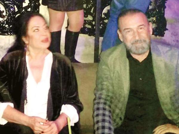 Türkan Şoray keçmiş həyat yoldaşı ilə - FOTO