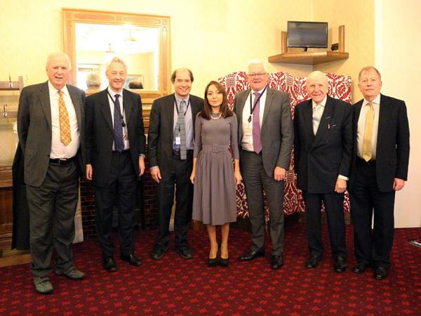 Böyük Britaniyanın Lordlar Palatasının yeddi üzvü professor Nərgiz Paşayeva ilə görüşüb - FOTO