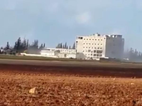 Rusiya Türkiyənin çörək zavodunu bombaladı - VİDEO
